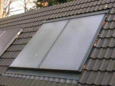 Paneles Buderus - integración y superficie de tejado