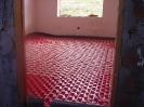 Suelo radiante en Dormitorio