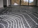 Detalle suelo radiante con planchas de nopas