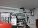 Interior de caldera Buderus Condensación de 60Kw para Hotel
